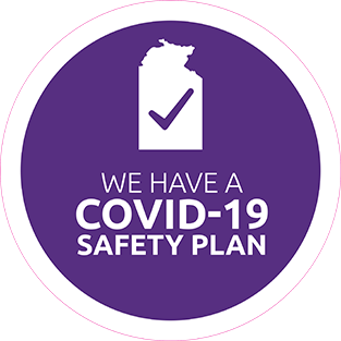 We have a COVID-19 safety plan